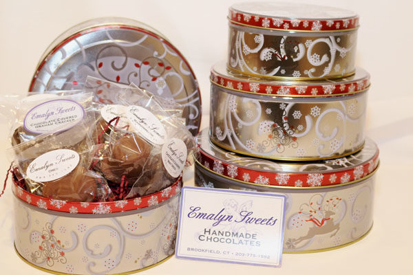 Large Round Tin Emalynsweets
