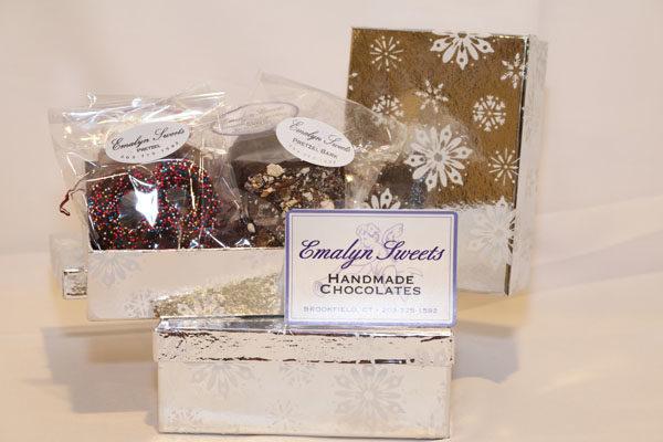 Shiny Silver Snowflake Boxes